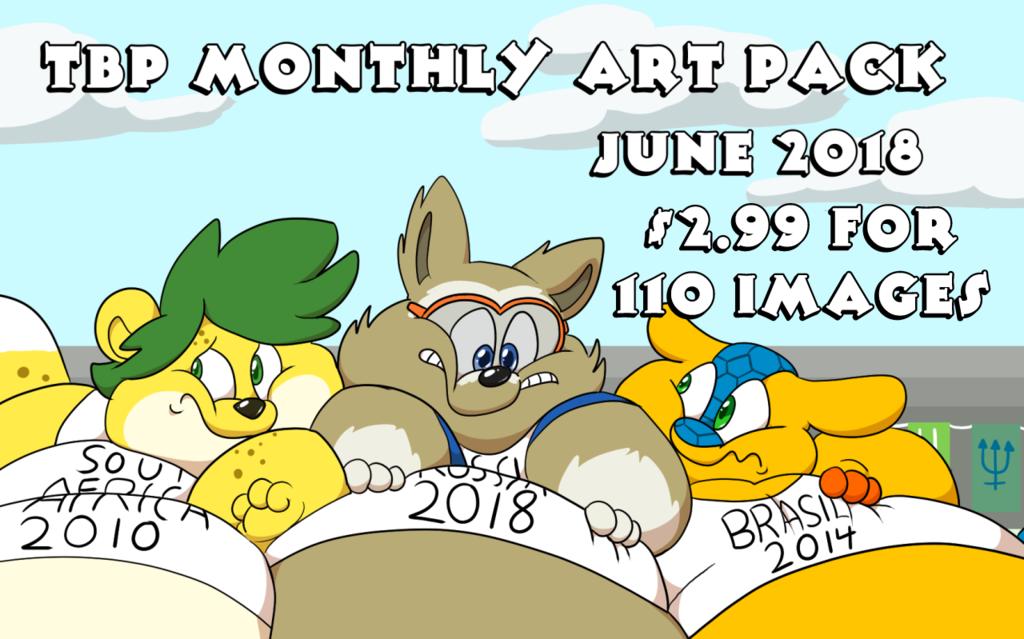 June 2018 Art Pack