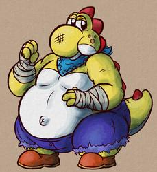 strong fat yoshi