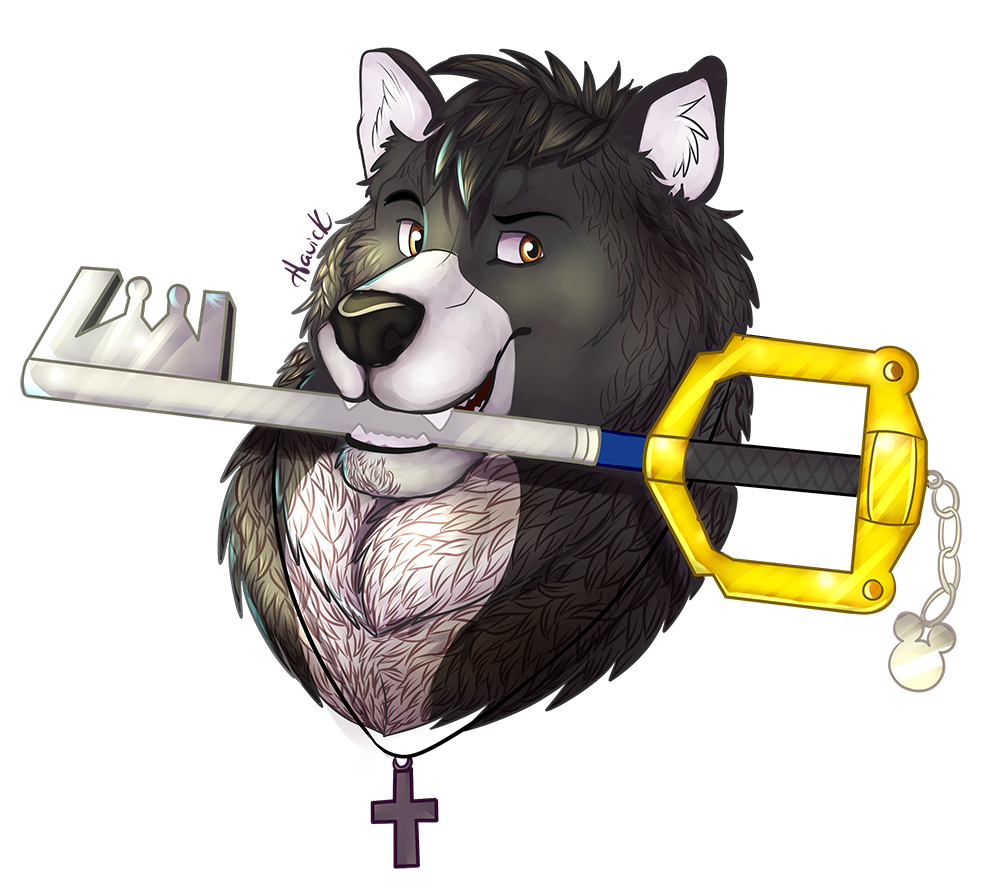 The Wolf And His Keyblade
