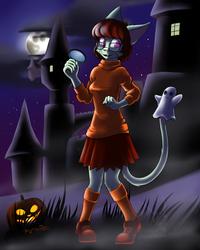 Jinkies, a ghost!