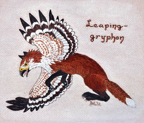GGAX:  Feb 2012 - Leaping-gryphon