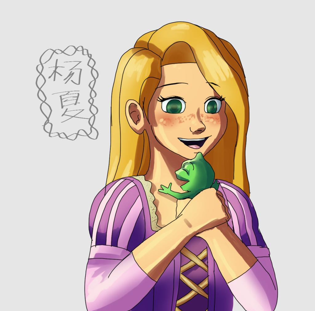 Tumblr Ask Response: Rapunzel and Pascal