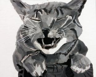 Acrylic Kitty
