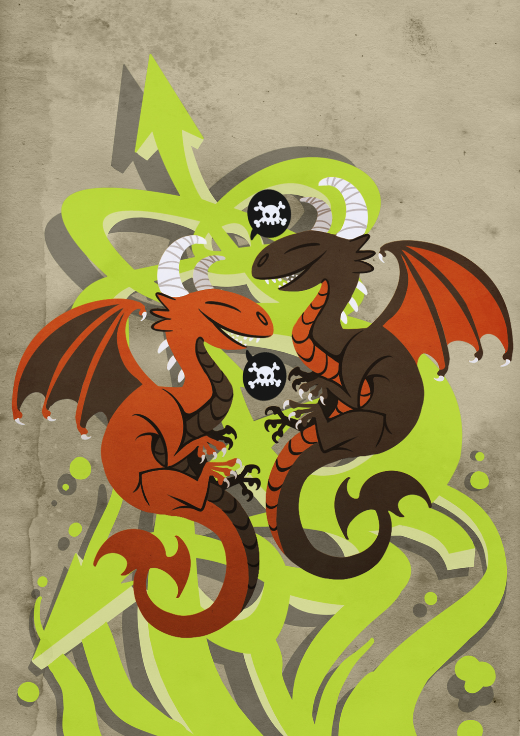 Double Death Dragons