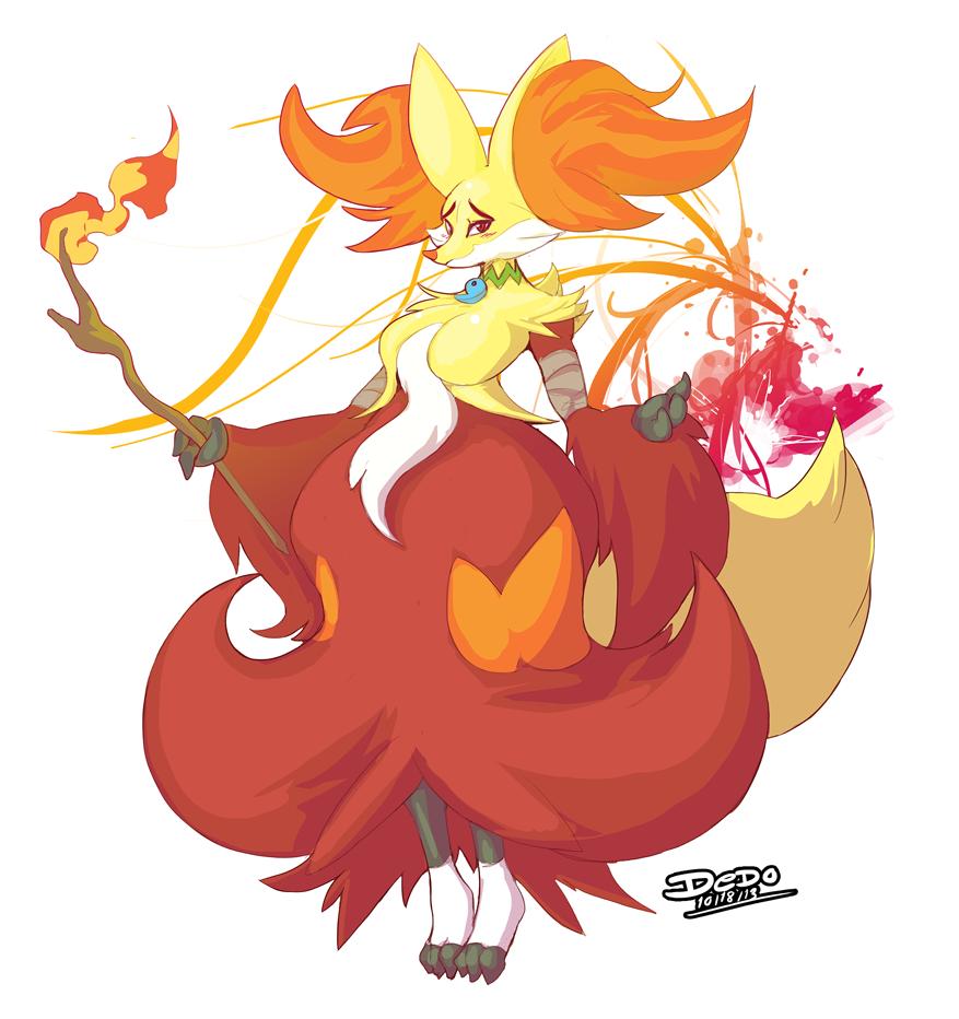 Rena the Delphox
