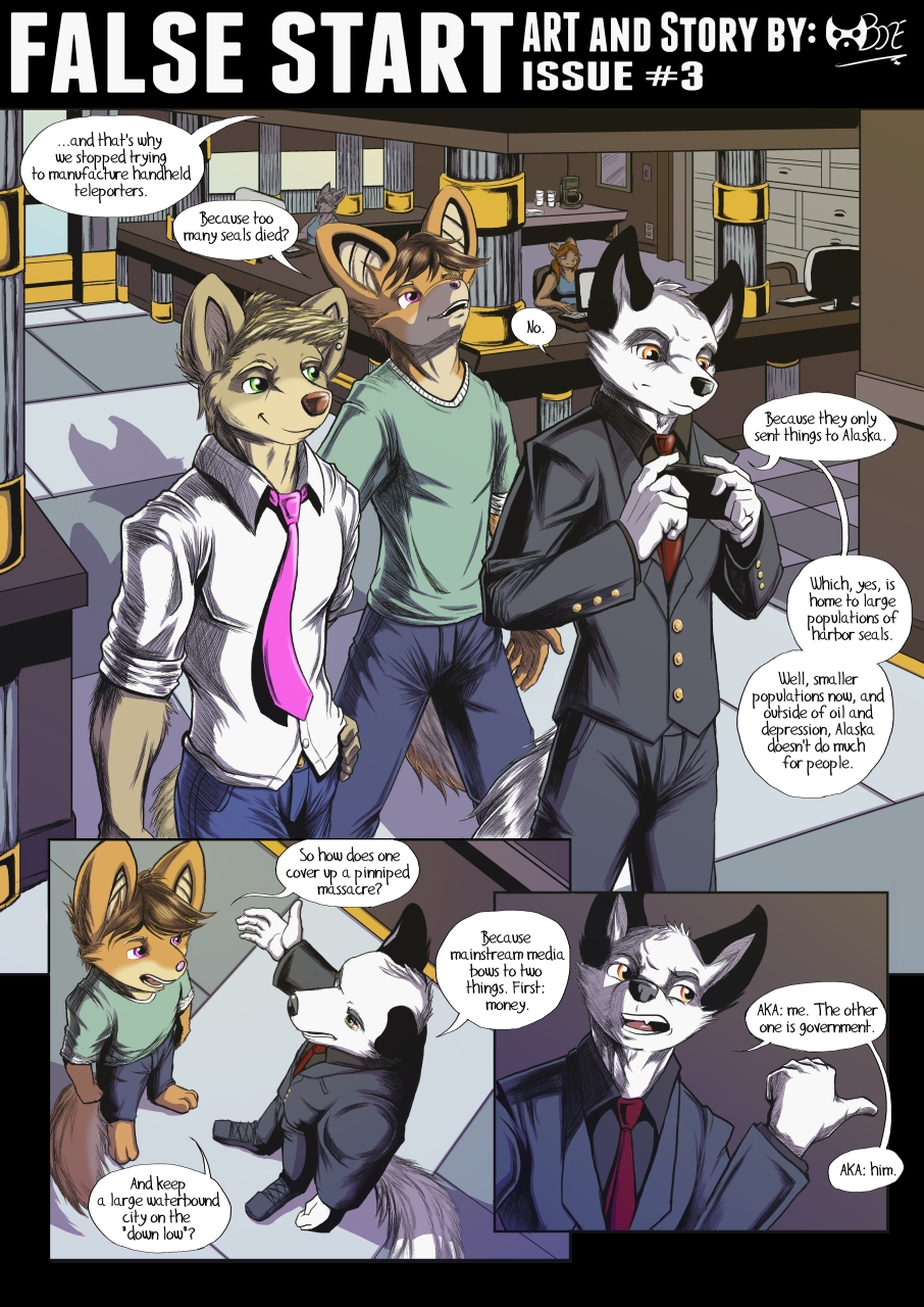 False Start Issue #3 Page 1