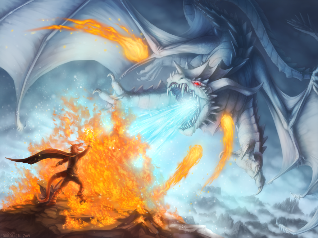 Challenging the White Dragon [Art]