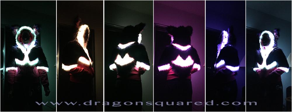 Featured image: LED Hoodie turnaround