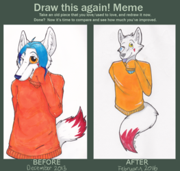"""Another """"draw this again"""" thingy"""