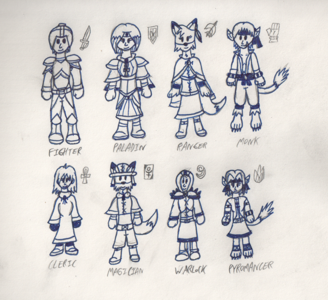 The Eight Classes: FFT-Like