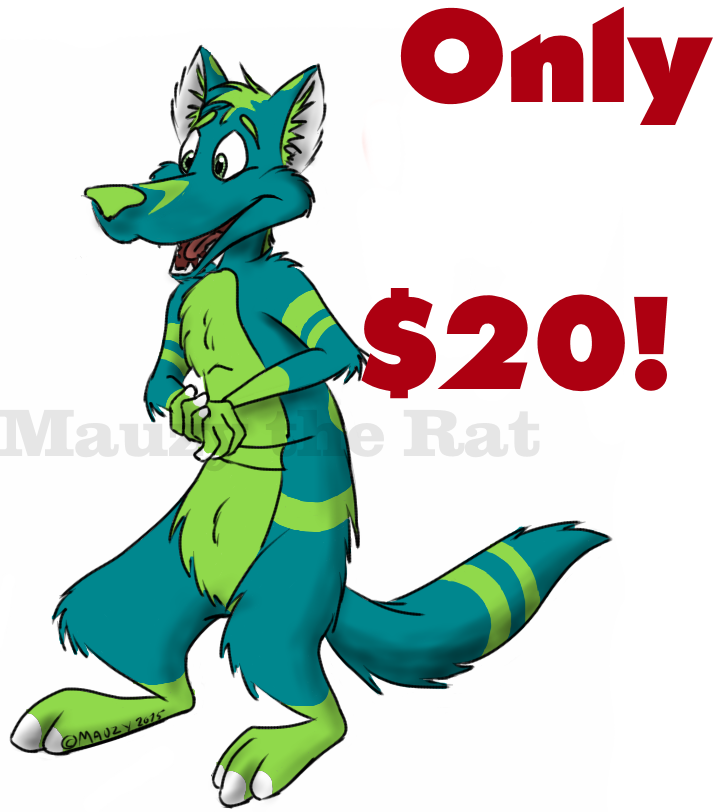 Most recent image: Fresh New Character! -For Sale!