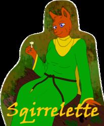 squirrelette badge