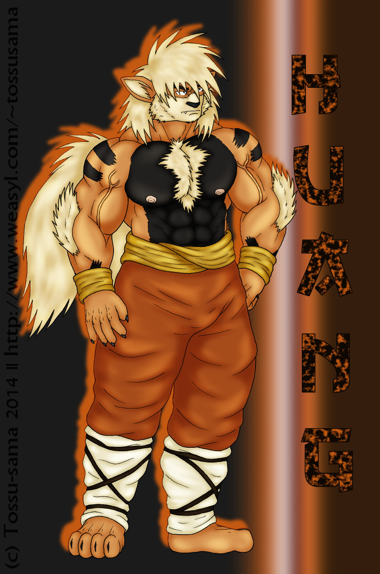 Huang the Arcanine