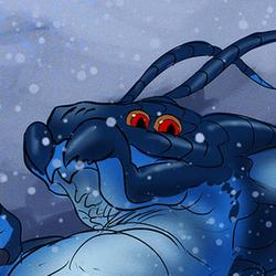 Zhag loves snow