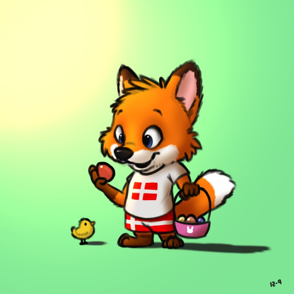 Easter foxy