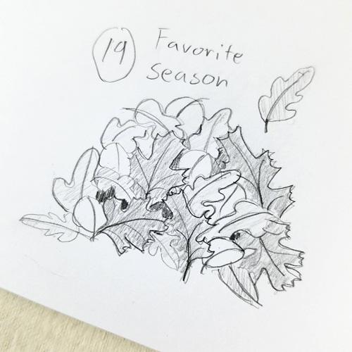 19) Favorite Season
