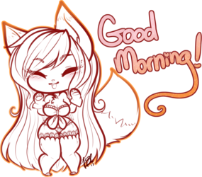 Good morning! [Kitsuu]