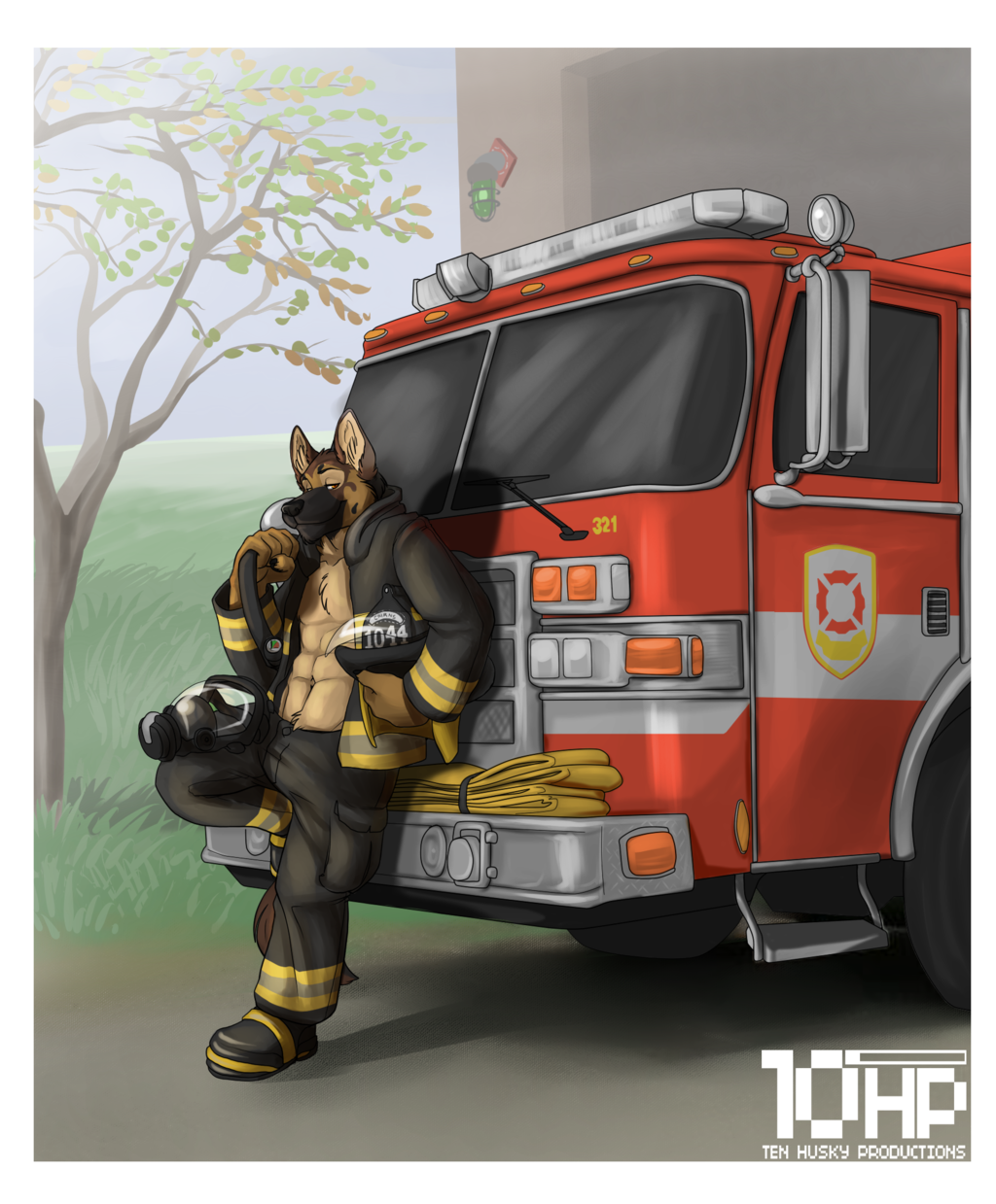 Working The Fire House