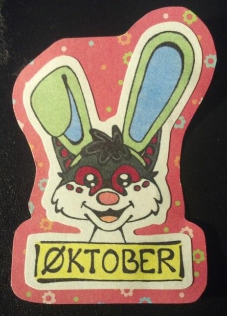 """Most recent image: """"Buntober"""" - Easter Badge for Oktober"""