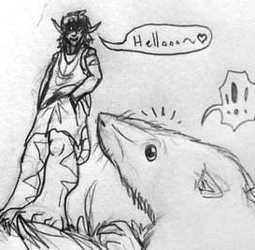 The Taming of the Shrew (silly sketchcomic :3)