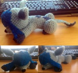 Glaceon Amigurumi [Crochet]