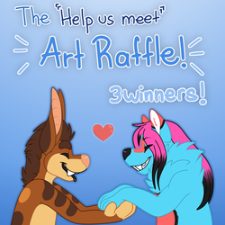 Art Raffle in Twitter