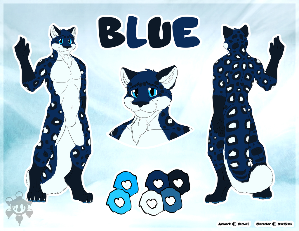 [CM - Dax] Blue SFW Simple Character Sheet