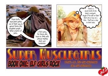 Super Musclegirls: Elf Girls Rock! 001-001