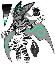 Male Zebra Bat (SOLD)