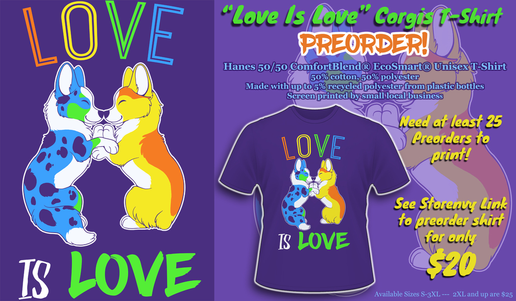 Love Is Love SHIRT PRE-ORDER!