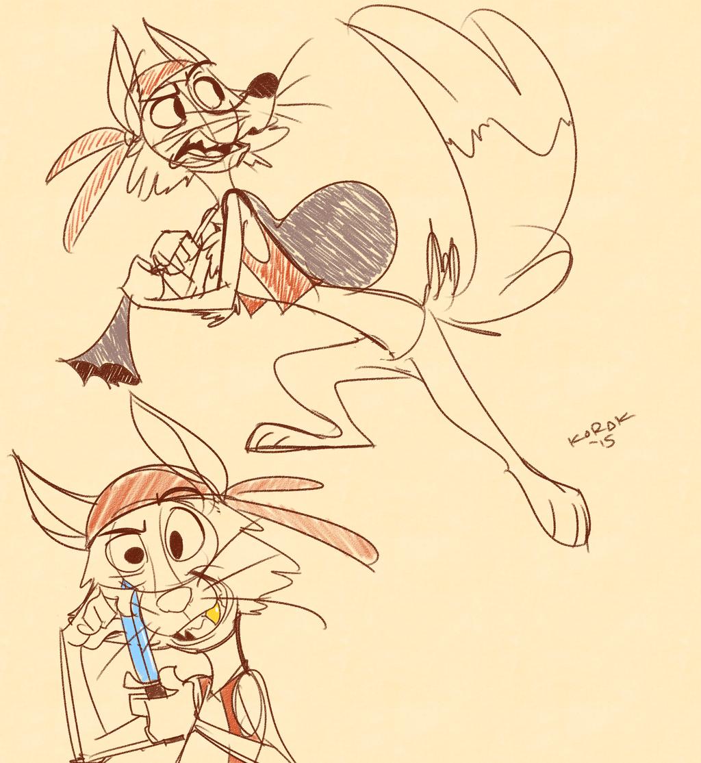 Pirate Fox