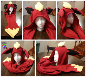 Flareon scoodie