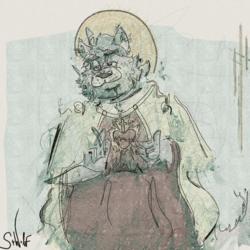 The Lupine Sacred Heart