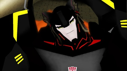 Shadow fang the wolf autobot