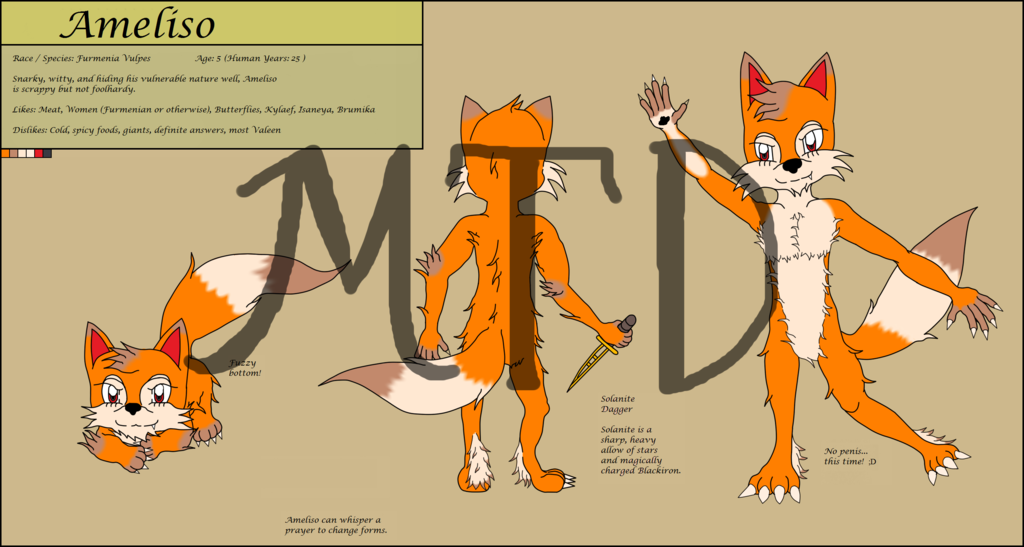Most recent image: Ameliso Reference Sheet