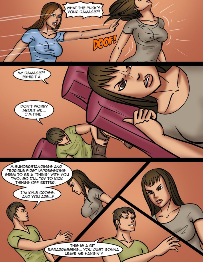 Sexual Tension #4a - Page 1