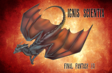 FFXV Dragon AU - Ignis Scientia