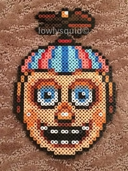 Balloon Boy Bead Badge