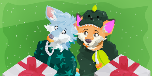[Comm] A couple of foxes