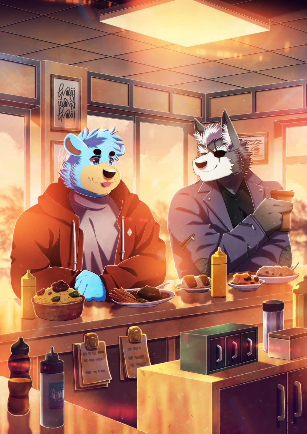 Most recent image: BEARY and WOLF