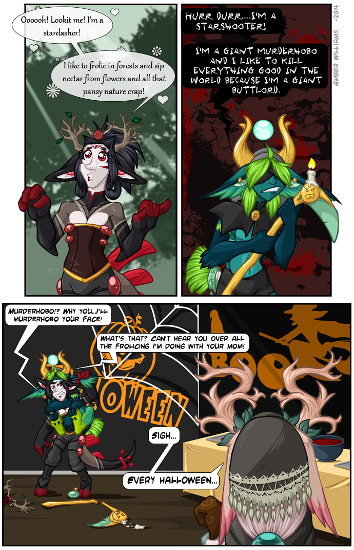 Comic: Halloweenies #01