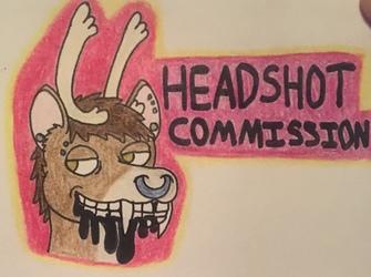 Pierce's Headshot Commissions
