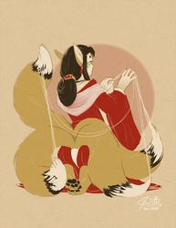 The Kitsune Weaver