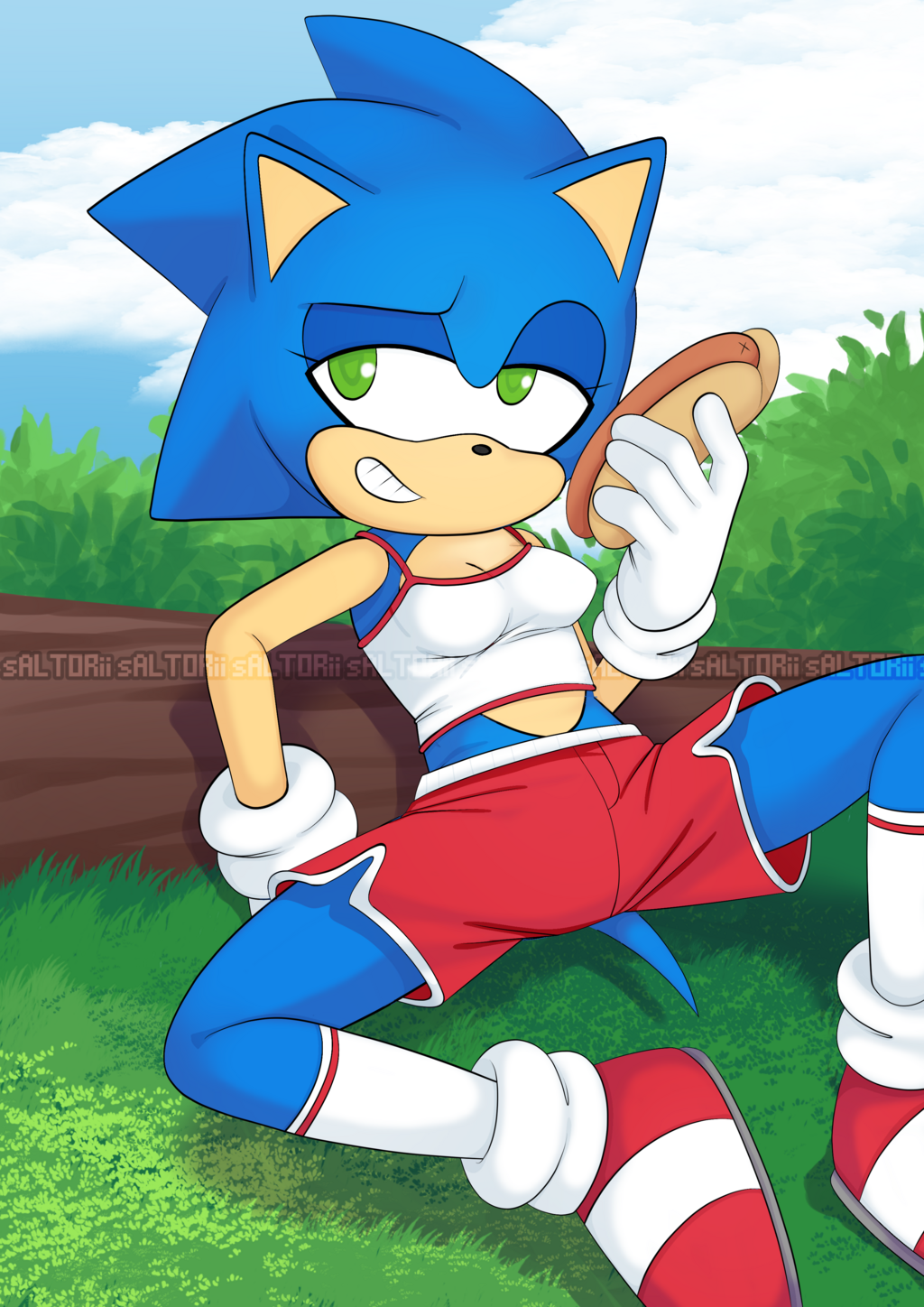 Featured image: Female Sonic