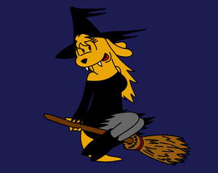 Witch (with teeth!)