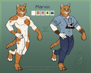 Character for Sale: Marvin [$60]