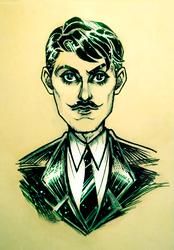 Howard [Digital-Over Sketch]