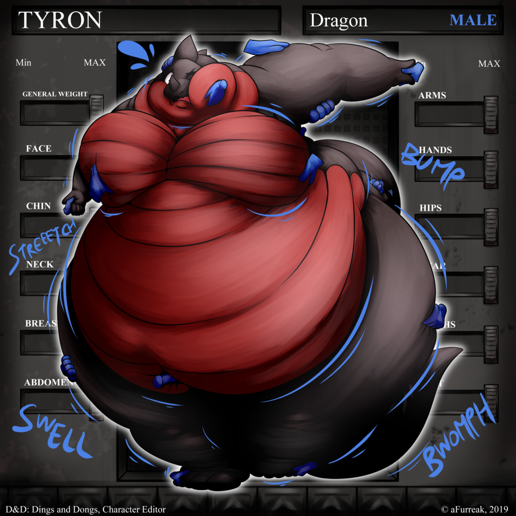 Most recent image: [YCH] RPGCharacterModifier: TYRON