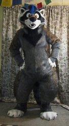 Meet the newest critter I made, a Raccoon!