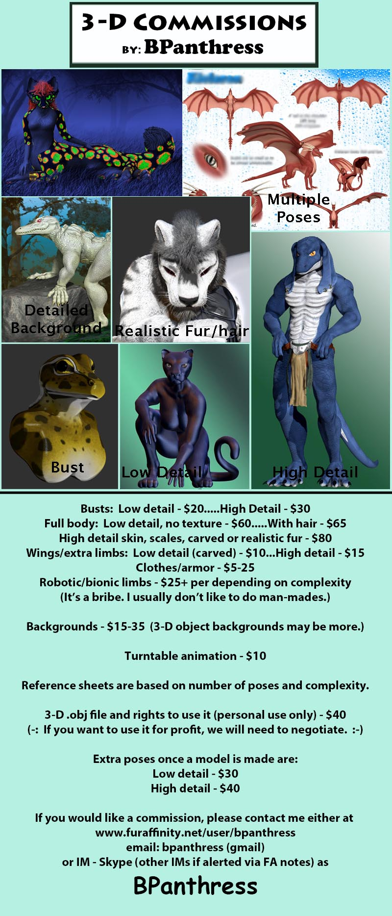 Featured image: Commission Prices
